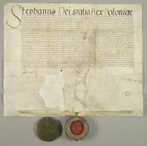 Przywilej Stefana Batorego dla miasta Rzeszowqa
