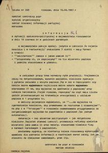 Jan Pawel II - pielgrzymki informacja 1983 rok