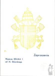 Jan Pawel II - pielgrzymki - zaproszenie