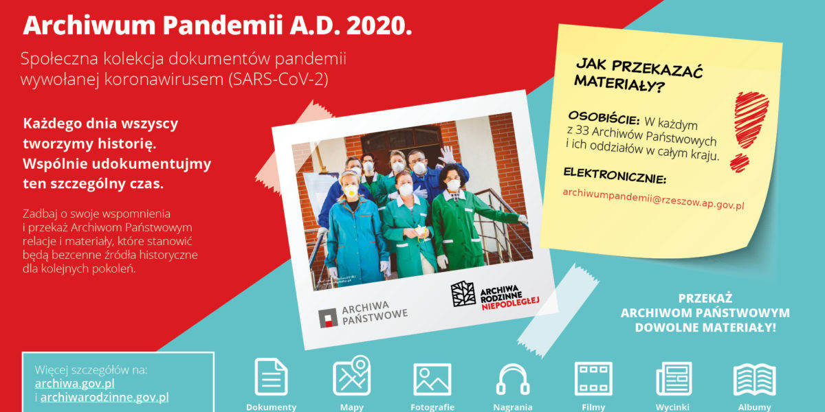 Akcja Archiwum Pandemii A.D. 2020
