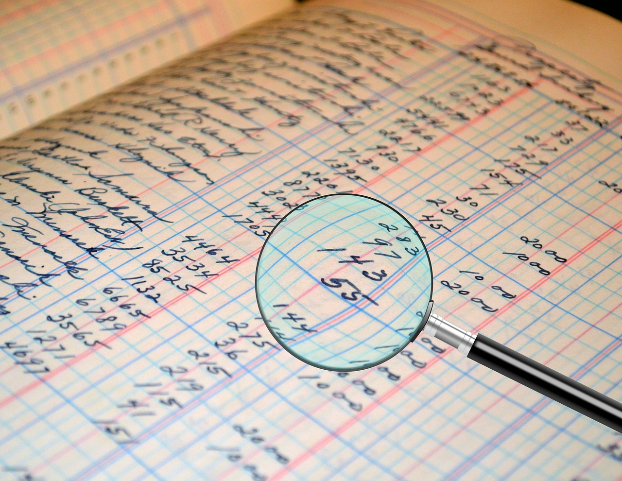 Audit Accounting Ledger Figures  - Tumisu / Pixabay