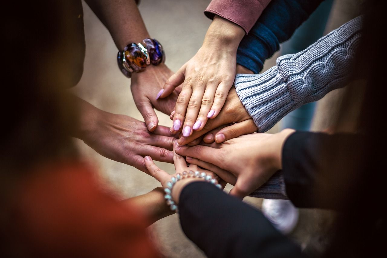 Team Friendship Group Hands  - Bob_Dmyt / Pixabay