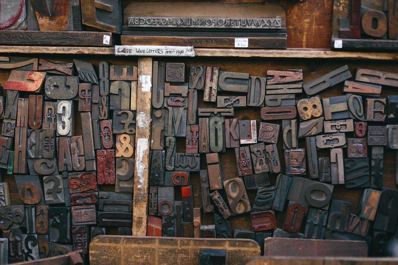 Woodtype Printing Font Letterpress  - Free-Photos / Pixabay