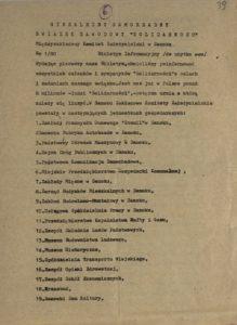 Biuletyn Informacyjny nr 180 Międzyzakładowego Komitetu Założycielskiego w Sanoku o celach i zadaniach związku z dn. 29.10.1980 r., s.39