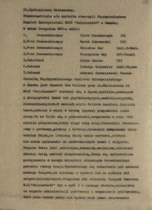 Biuletyn Informacyjny nr 180 Międzyzakładowego Komitetu Założycielskiego w Sanoku o celach i zadaniach związku z dn. 29.10.1980 r., s.40