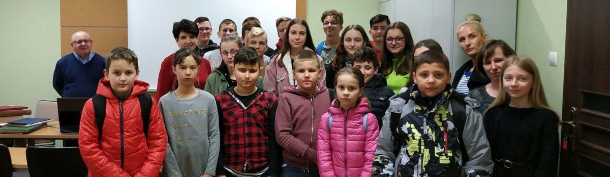 Wizyta uczniów z Pobiedna