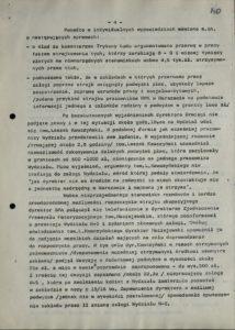 Informacja z dn. 18.08.1980 r. o przestoju pracy w Sanockiej Fabryce Autobusów Autosan na Wydziale W-5 w dniach 15-16 bm., s.140