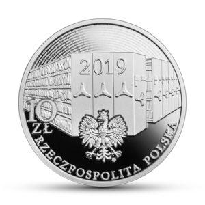 Moneta okolicznosciowa - 100 rocznica podpisania Dekretu o archiwach państwowych - awers monetybrak