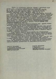Pismo Komitetu Strajkowego w Ustrzykach Dolnych oraz w Rzeszowie NSZZ Solidarność i NSZZ Solidarność Wiejska z dn. 20.01.1981 r. do Prezesa Rady Ministrów PRL w Warszawie