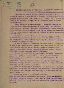 Pismo Przewodniczącego NSZZ Solidarność do Członków NSZZ Solidarność w Zarządzie Budownictwa Leśnego Bieszczady w Ustrzykach Dolnych, s.78