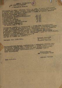 Serwis informacyjny MKK NSZZ Solidarność' w Ustrzykach Dolnych z 2.09.1981 r. o konfiskacie związkowych pism i książek przez milicjantów, s.75