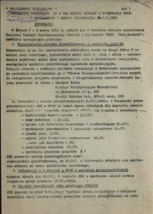 Solidarność Podkarpacka Informator wewnętrzny nr 4 dla Sekcji Oświaty i Wychowania NSZZ Solidarność z dn.20.03.1981 r., s.351