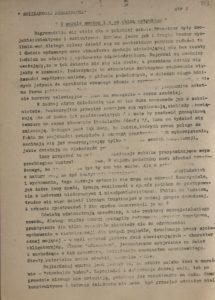 Solidarność Podkarpacka Informator wewnętrzny nr 4 dla Sekcji Oświaty i Wychowania NSZZ Solidarność z dn.20.03.1981 r., s.353