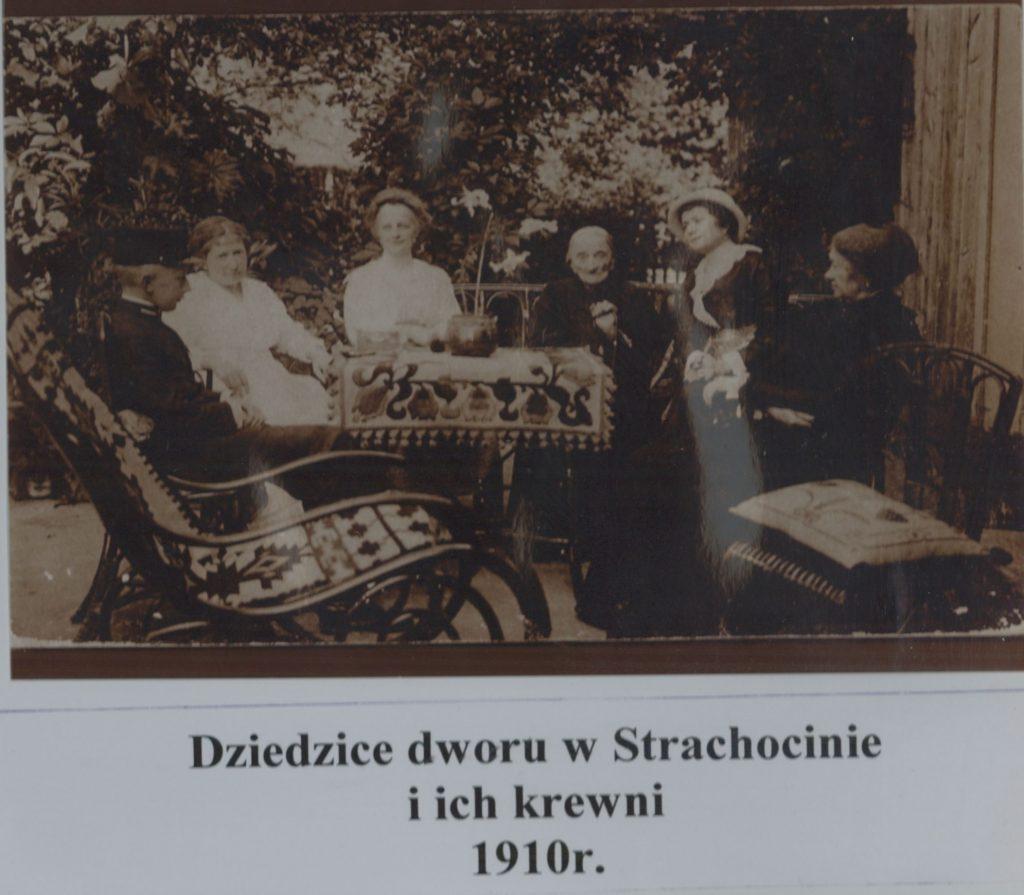 dziedzice-dworu-w-strachocinie-i-ich-krewni-1910-r