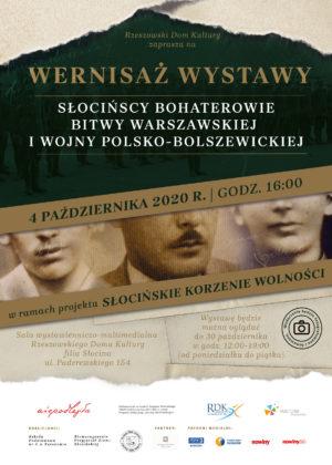 wernisaż wystawy Słocińscy bohaterowie Bitwy Warszawskiej i wojny polsko-bolszewickiej
