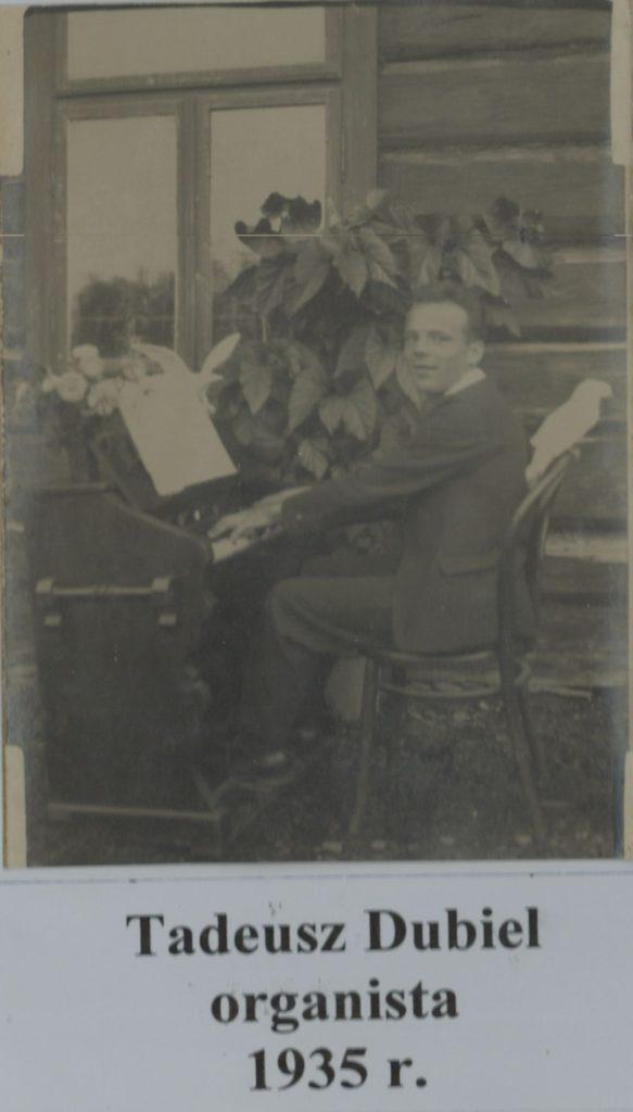 tadeusz-dubiel-organista-1935-r