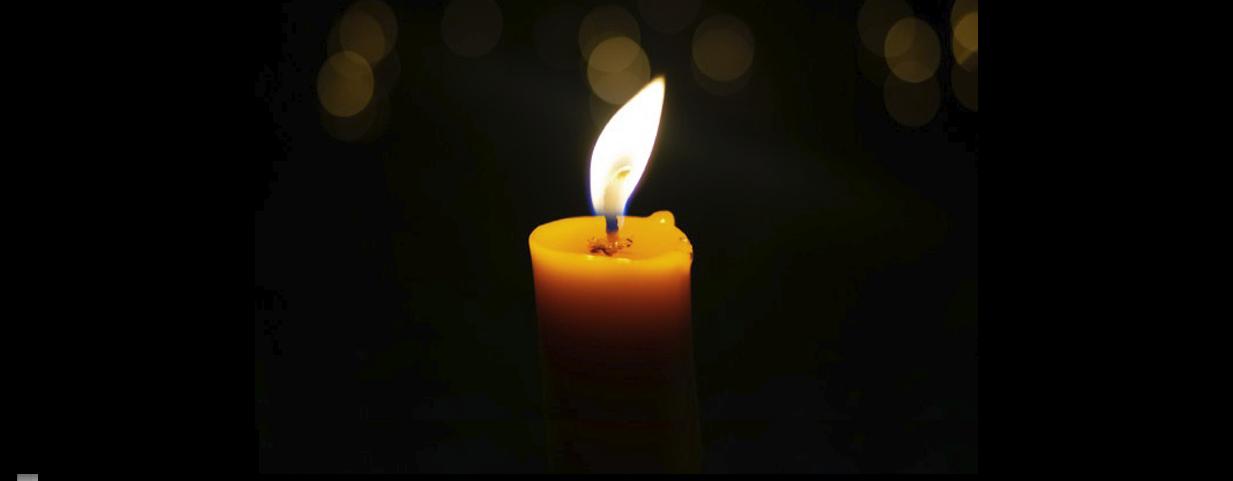 symboliczny znicz Międzynarodowych Dni Pamięci o Ofiarach Holokaustu na Podkarpaciu